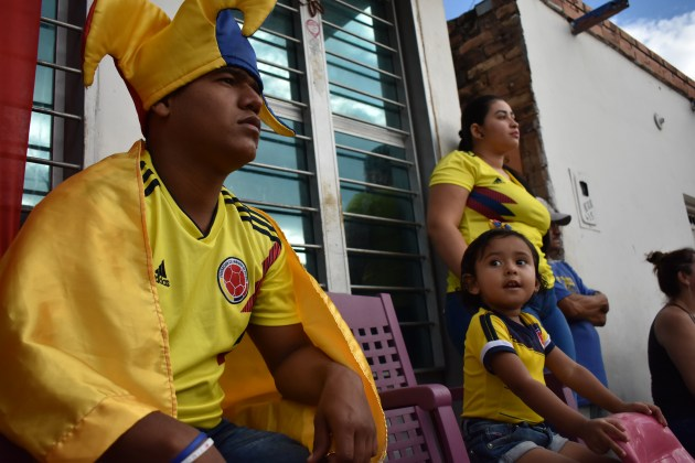 Across border towns, national identities merge as struggling Venezuelans cheer for Colombia