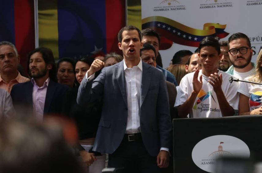 Venezuela National Assembly Maduro Arrest