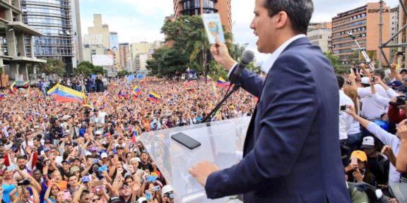 Guaido declaration president Venezuela